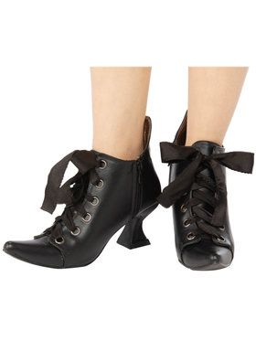 Alexa Lace Booties for Adults