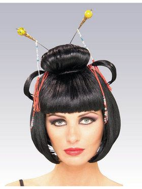 Oriental Collection: Womens Asian Wig