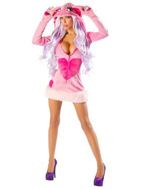 Women's Blush Bear Sexy Deluxe Josie Loves J Valentine Costume