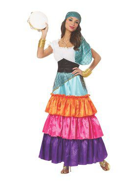 Women's Bohemian Gypsy Costume