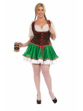 Women's Buxom Beer Garden Girl Costume