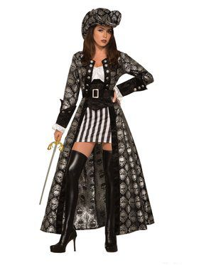 Womens Captain Silva Blackskull Costume