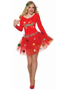 Women's Christmas Petticoat Dress