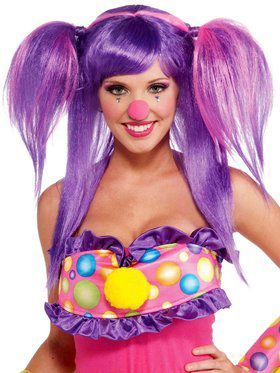 Women's Circus Sweetie Berry Bubbles Wig