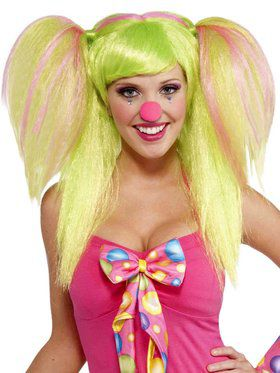 Womens Circus Sweetie Lollypop Lilly Wig