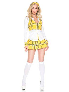 Clueless School Girl Women's Costume