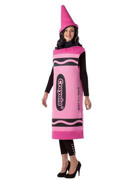 Womens Crayola Tickle Me Pink Costume