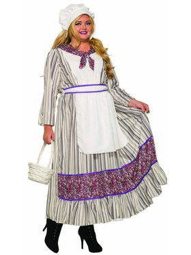 Pioneer Woman Plus Costume for Adults