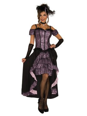 Dance Hall Mistress Costume For Adults
