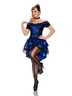 Queen of the Dance Hall Costume for Women