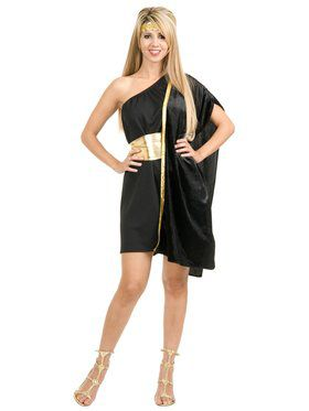 Womens Dark Side Grecian Toga
