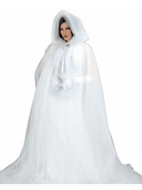 Womens Deluxe Ghost Cape