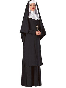 Mother Superior Nun Deluxe Costume for Women