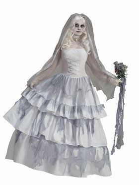 Victorian Bride Costume Deluxe For Adults