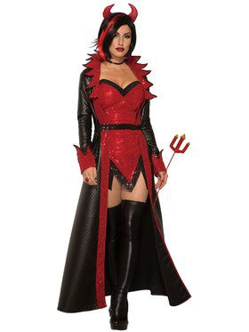 Womens Demonique Costume