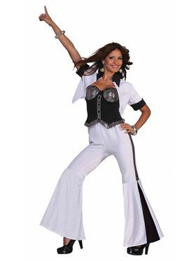 Womens Disco Fever Diva Costume