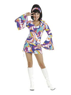 Disco Hottie Costume for Women