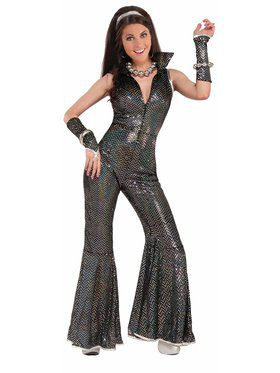 Disco Jumpsuit for Women (Small)
