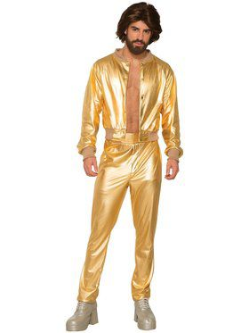 Disco Days Singer Costume for Men