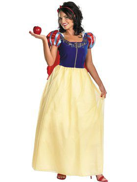 Womens Disney Dlx Snow White Costume