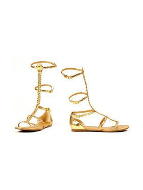 Women's Egyptian and Greek Gold Sandals
