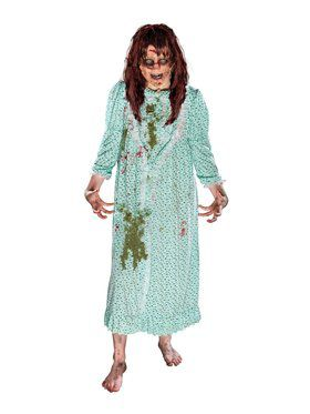 Women's Exorcist Regan Costume w/ Wig