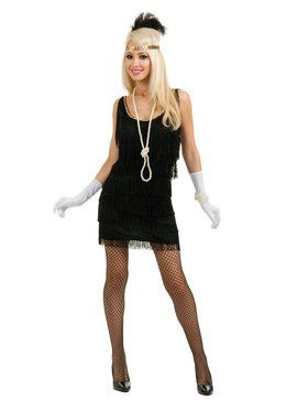 Women's Fashion Flapper Red Costume