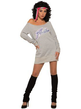 Womens Alex Owens Flashdance Costume