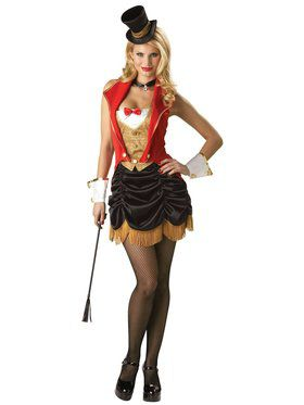 Womens Flirty Three Ring Hottie Costume