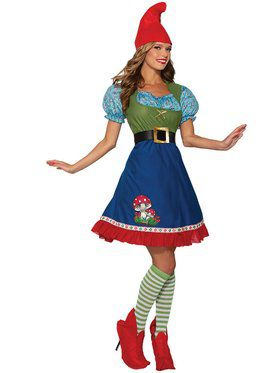 Flora The Gnome Costume for Women