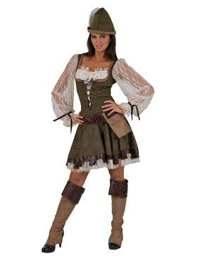Womens Forest Maid Costume