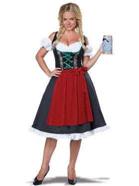 Fraulein Oktoberfest Costume For Women