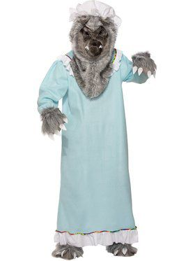 Grandma Wolf Costume for Women