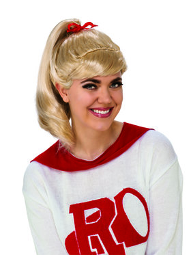 Womens Grease Good Sandy Wig