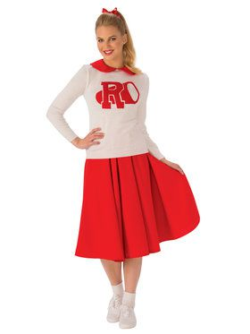 Grease Rydell High Cheerleader Costume For Adults