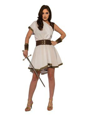 Greek Warrior Women's Costume