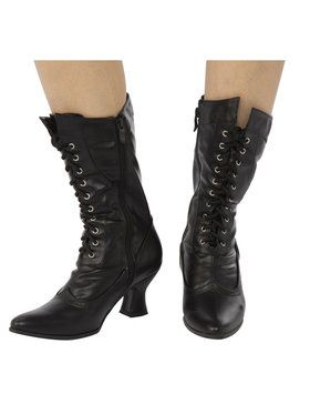 Hailey Lace-up Boots