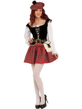Womens Highland Hottie Lass Costume