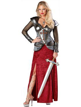 Womens Joan of Arc Costume