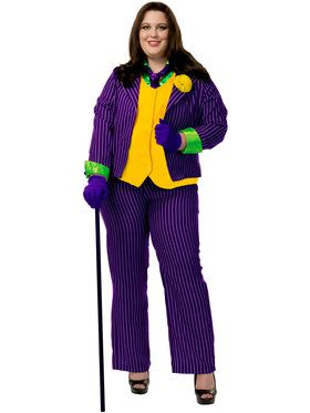 Joker Plus Size Costume For Women