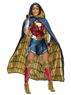 Womens Justice League Grand Heritage Wonder Woman Costume