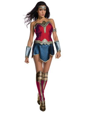 Womens Justice League Secret Wishes Wonder Woman Costume