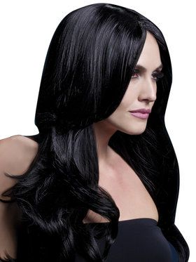 Women's Khloe Black Wig