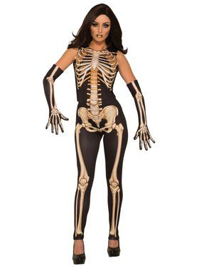 Lady Bones Womens Costume