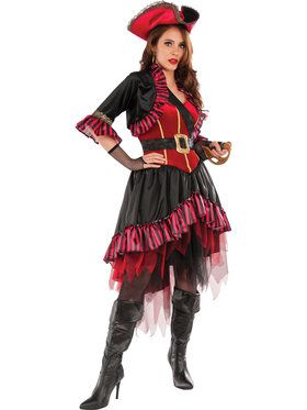 Lady Buccaneer Costume For Adults