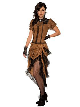 Last Dance Saloon Girl Womens Costume