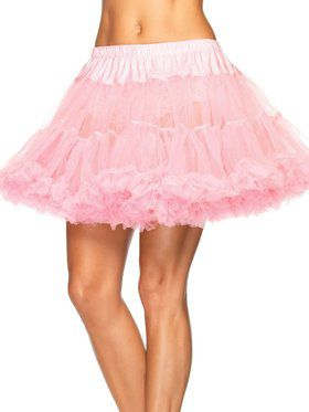 Women's Layered Tulle Petticoat - Pink