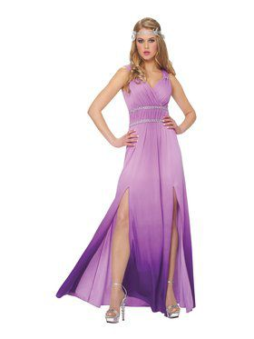 Women's Lilac Goddess Costume
