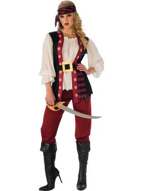 Lusty Pirate Womens Costume