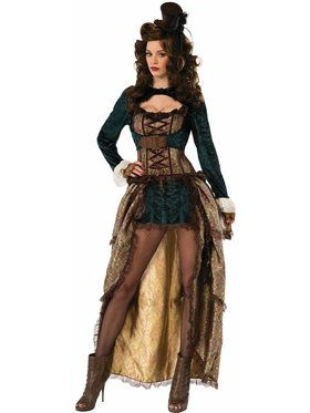 Madame Steampunk Costume For Adults